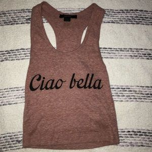 Ciao Bella F21 Crop Top